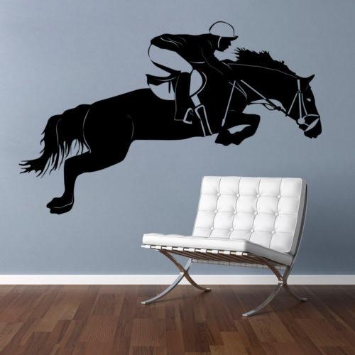 Cavalo em Vinil Autocolante Decorativo