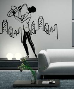 New York Music em vinil Autocolante Decorativo