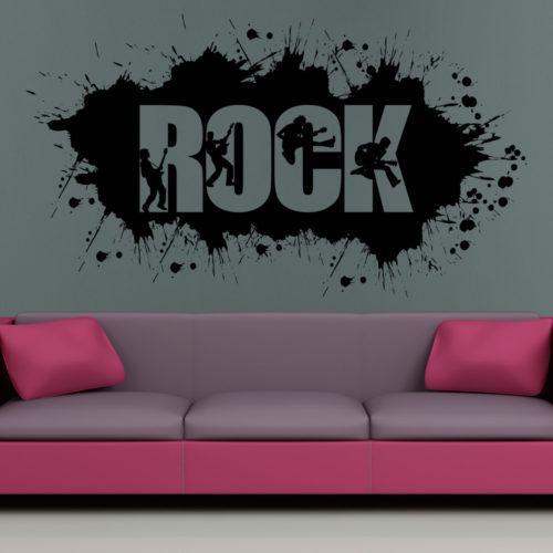 Rock Grafiti em Vinil Autocolante