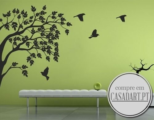 Birds and Branch Sticker
