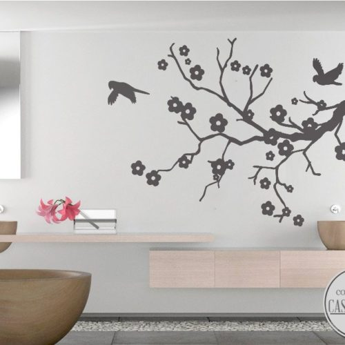 Blossom wall decal
