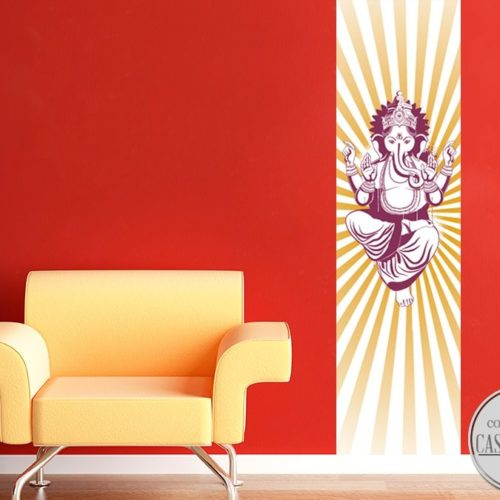 Ganesha Poster Sticker