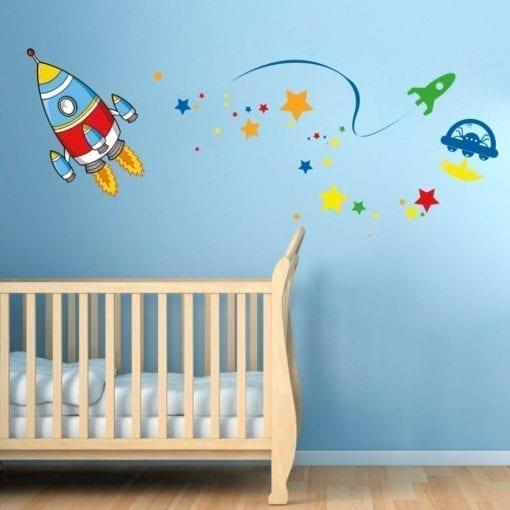 Vinil Decorativo Espaço Infantil