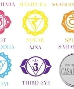 Chakras wall sticker