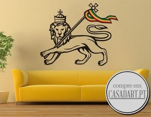 Lion of Judah Rastafari Sticker
