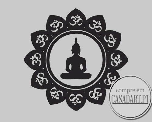 Mandala Buddha Sticker