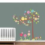 Tree Owl Sticker