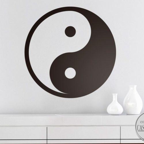 yang wall sticker
