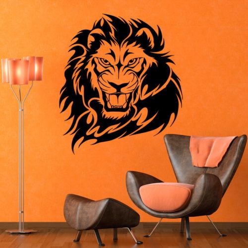 Leão em Vinil Autocolante Decorativo