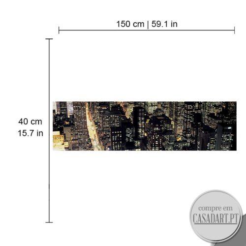 Panoramico Metropolis Dimensões