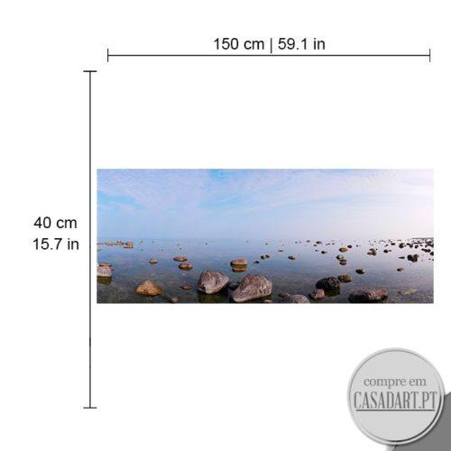 Panoramico Stone Lounge Dimensões