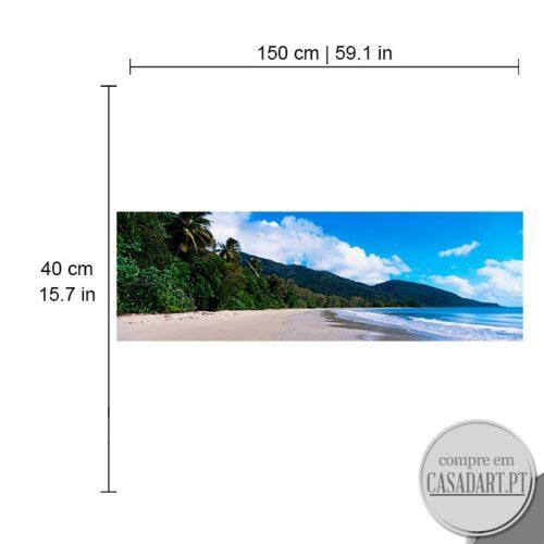Panoramico Tropical Dimensões