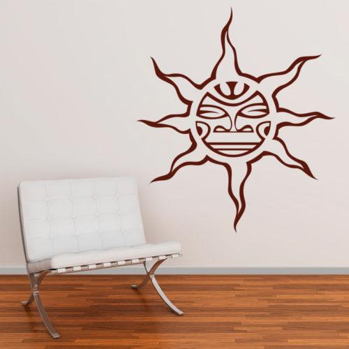 Sol Tribal Vinil de Parede