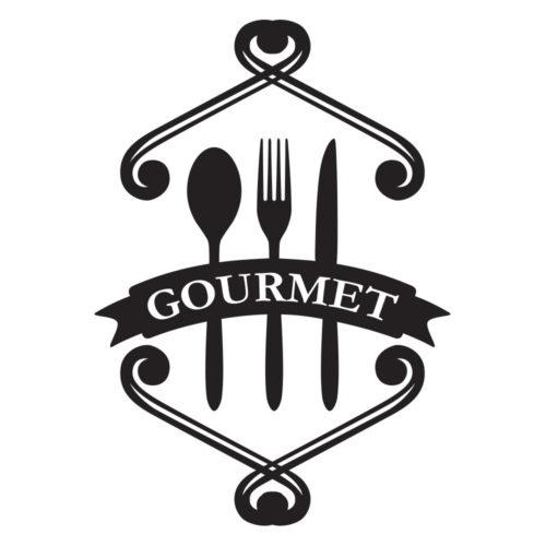 Vinil para Cozinha - Gourmet - Detalhe