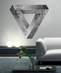Triângulo Impossível vinil decorativo