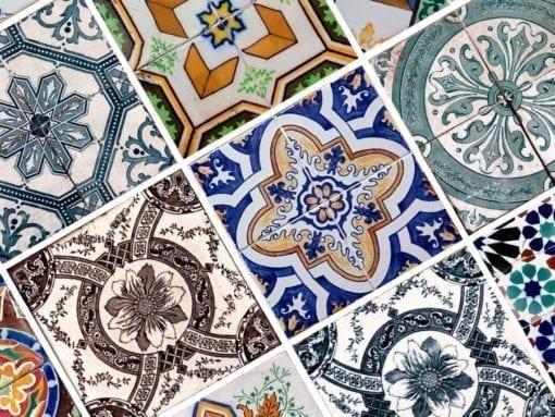 Azulejos Portugueses Autocolantes - Detalhe