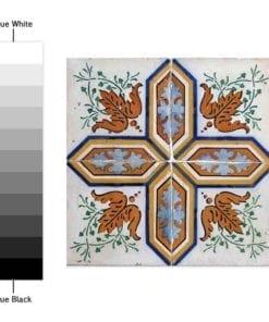 Azulejos Portugueses Autocolantes - Espectro de Cores