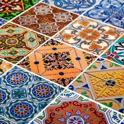 Azulejos Tradicionais Portugueses Autocolantes - Detalhe
