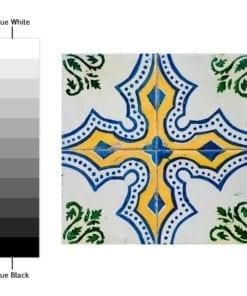Azulejos Tradicionais Portugueses Autocolantes - Espectro de Cores