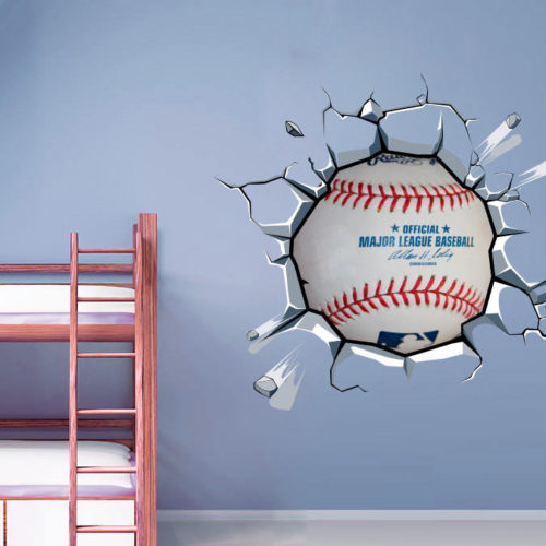 Bola de Baseball vinil autocolante