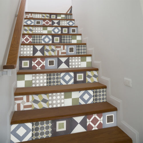 Sintra Azulejos Autocolantes - Escadas