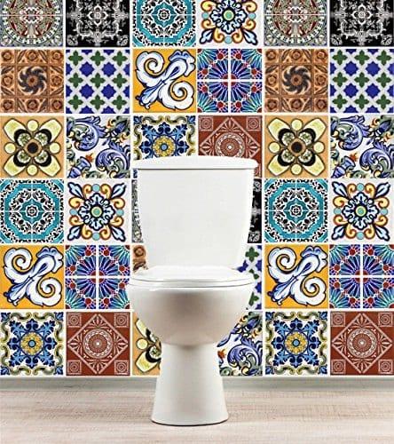 Talavera autocolantes para azulejos - Adesivi per piastrelle cucina ...