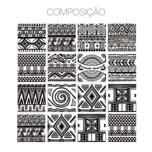 Aztec revestimentos para azulejos Composição