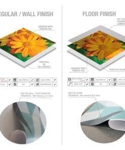 Color Nature Revestimento de Azulejos - Material