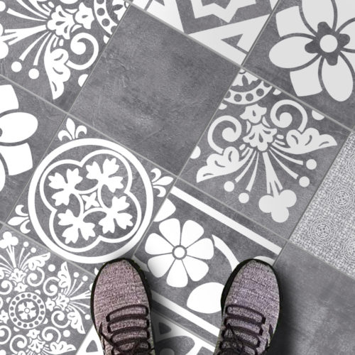 Luxury Tiles Autocolantes para Azulejos - Chão