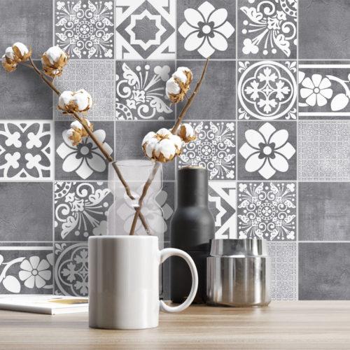 Luxury Tiles Autocolantes para Azulejos - Parede