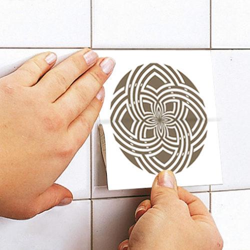 Terracota revestimento de azulejos Aplicação