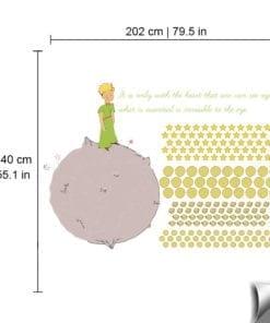 Vinil Impresso O Pequeno Príncipe Dimensões