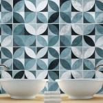 Mid Century Modern Azulejos autocolantes
