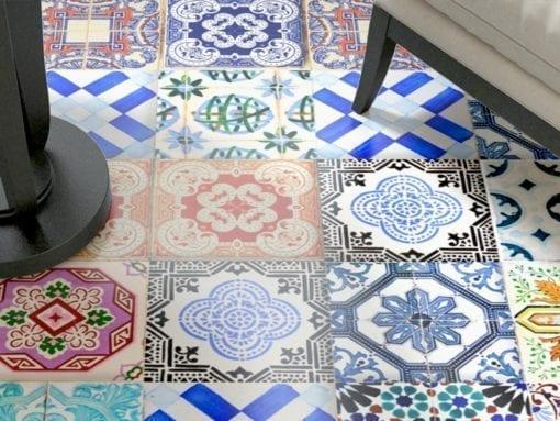Azulejo Tradicional Espanhol - Chão 1