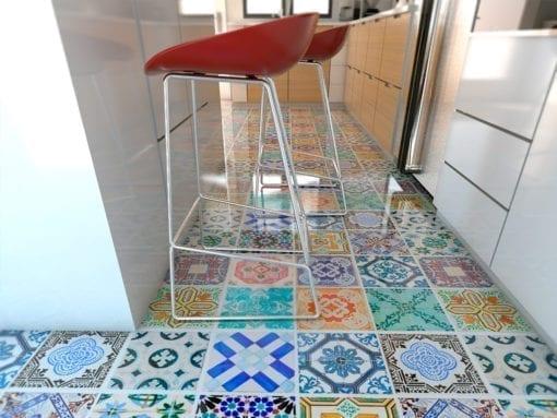 Azulejo Tradicional Espanhol - Chão