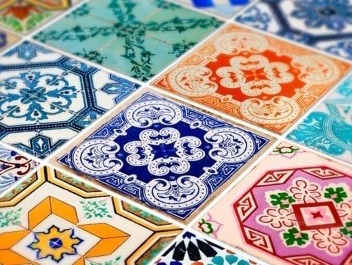 Azulejo Tradicional Espanhol - Detalhe