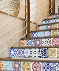 Azulejo Tradicional Espanhol - Escadas