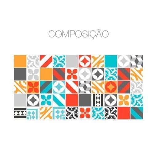 Color Life revestimento para azulejos Composição