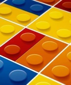 Lego Azulejos Autocolantes - Detalhe