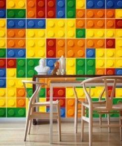 Lego Azulejos Autocolantes - Parede