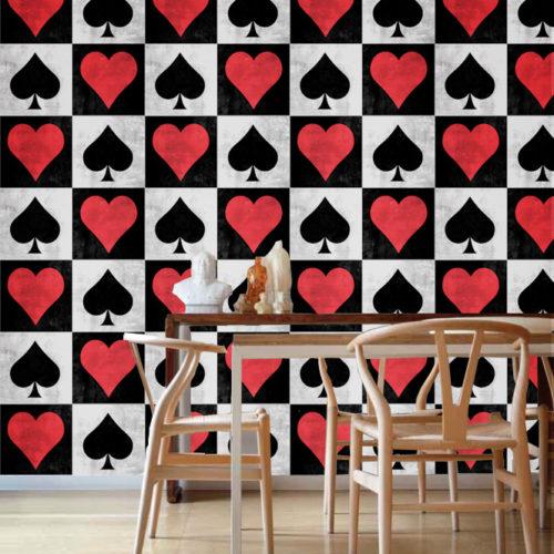 Playing Cards azulejos autocolantes