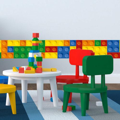 Lego Faixa Decorativa em Vinil