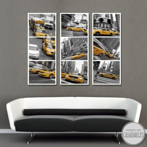 New York Cabs Tripticos