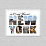 New York Life Style Poster