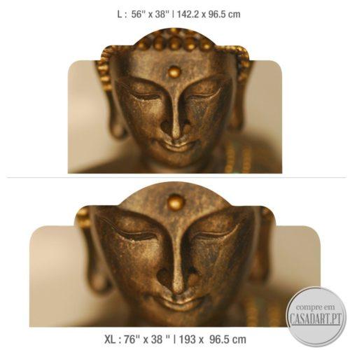 Buda Cabeceiras de Cama Dimensões