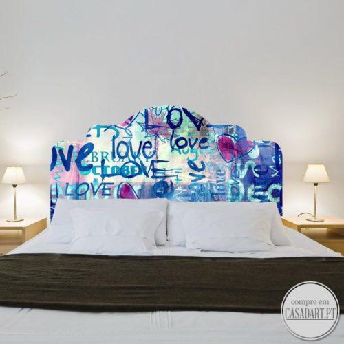 Graffiti Love Cabeceiras para Cama