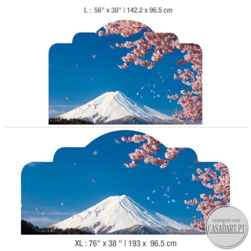 Sakura Cabeceiras de Cama Dimensões