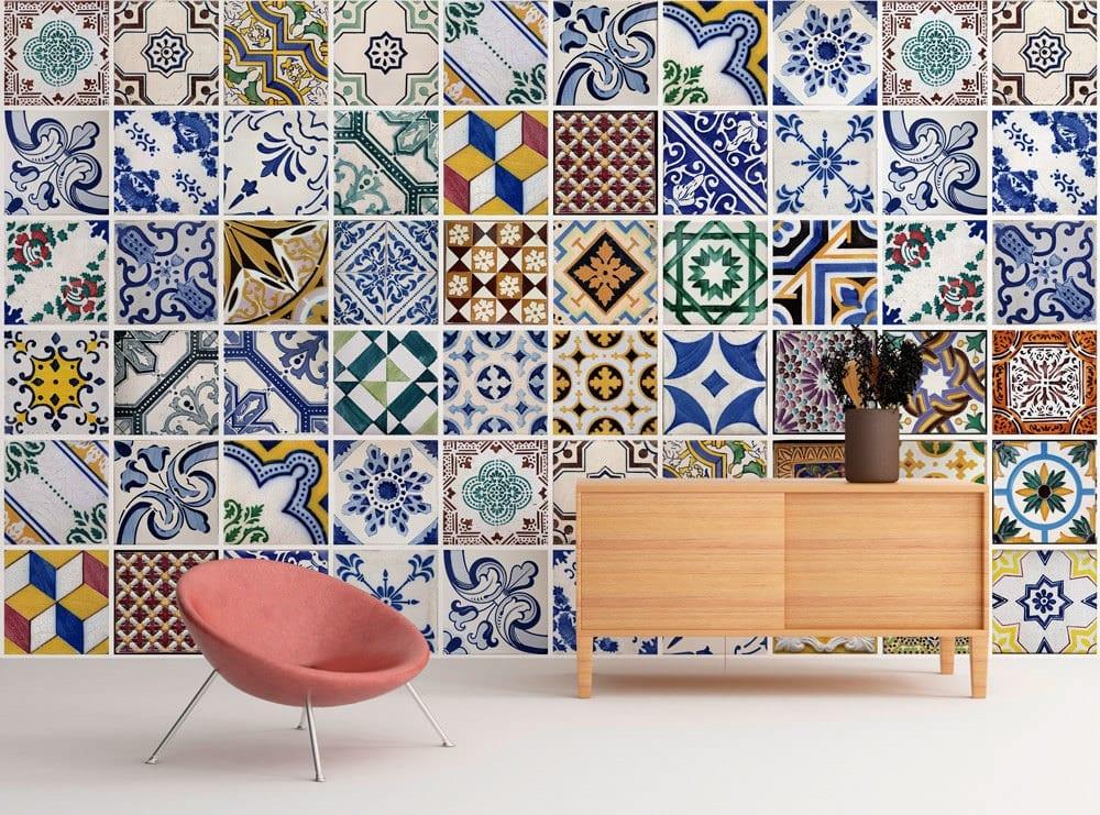 Azulejos Tradicionais Portugueses Destaque