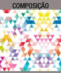 Triangulos - Mid Century - Mural - Composição