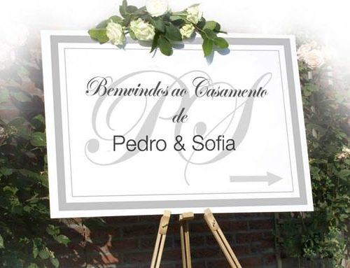PAINEL DE BOAS VINDAS - CASAMENTOS